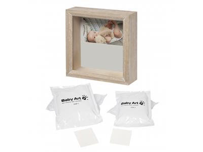 Dřevěný rámeček BABY ART My Baby Sculpture Stormy 2021 - 2