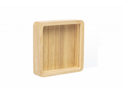 Dřevěný rámeček BABY ART Magic Box Square Wooden 2021 - 2