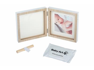 Dřevěný rámeček BABY ART Square Frame Wooden 2021 - 2