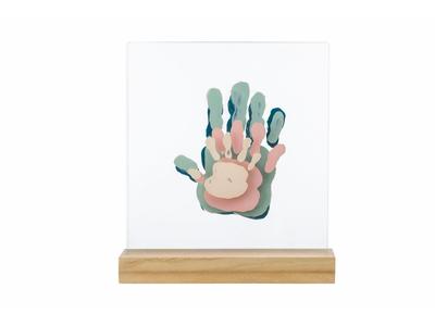 Dřevěný stojánek BABY ART Family Prints Wooden 2021 - 2