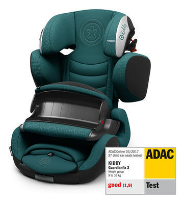 Autosedačka KIDDY Guardianfix 3 2019, deep sea green - 2