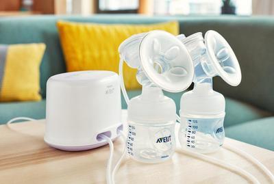 Odsávačka mateřského mléka AVENT Natural elektronická DUO 2019 - 2