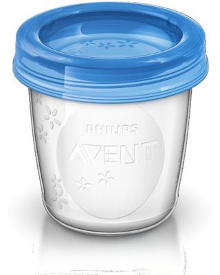 VIA pohárky AVENT s víčkem (180ml) 2020 - 2