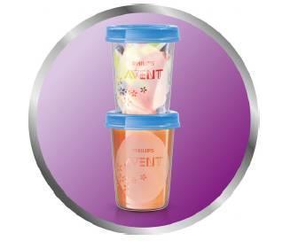 VIA pohárky AVENT s víčkem (240ml) 2020 - 2