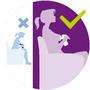 Odsávačka mateřského mléka AVENT  Natural s VIA pohárky 2020 - 2/7