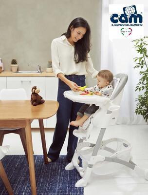 Jídelní židlička CAM Istante 2020 - 2