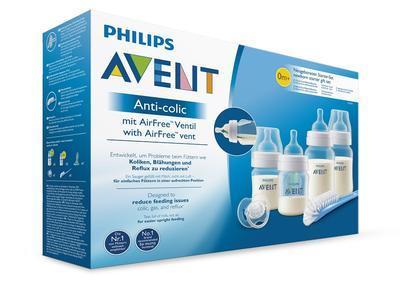 Novorozenecká startovní sada AVENT Anti-colic,ventil AirFree 2020 - 2