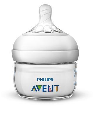 Láhev AVENT Natural 60 ml nová 2020, čirá - 2