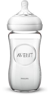 Láhev AVENT Natural skleněná 240 ml nová 2020 - 2
