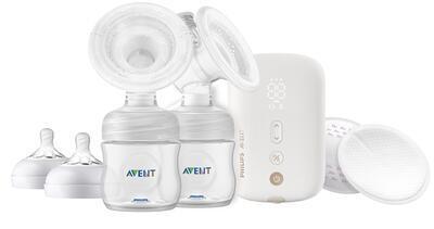 Elektronická odsávačka mateřského mléka AVENT Premium DUO Nabíjecí 2020 - 2