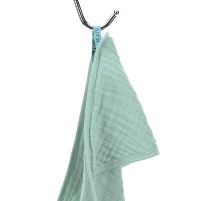Ručník s kapucí LÄSSIG Muslin Hooded Towel 2021, mint - 2