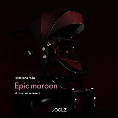 Přebalovací taška JOOLZ Uni2 2020 Limitovaná edice Epic Maroon - 2