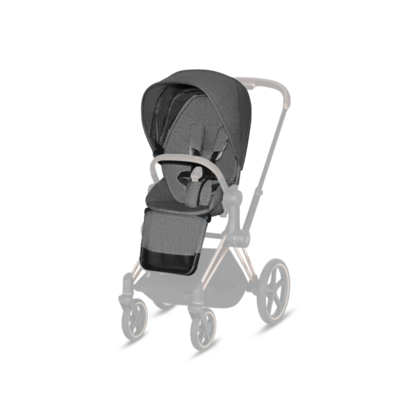 Kočárek CYBEX Priam Chrome Brown Seat Pack PLUS 2021 - 2