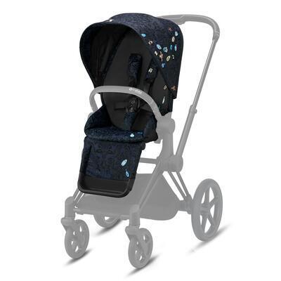 Kočárek CYBEX Set Priam Seat Pack Fashion Jewels of Nature 2021 včetně Cloud Z i-Size a base Z - 2