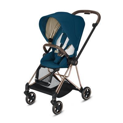 Kočárek CYBEX Mios Rosegold Seat Pack 2021, mountain blue - 2