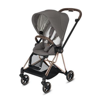 Kočárek CYBEX Mios Matt Black Seat Pack 2021, soho grey - 2