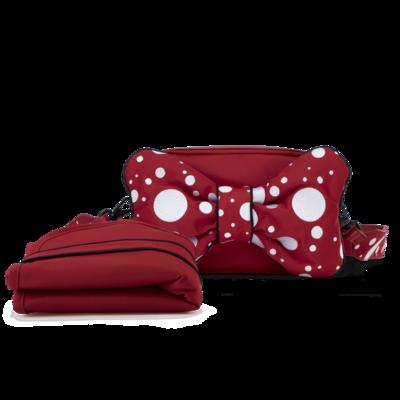 Taška na pleny CYBEX by Jeremy Scott Priam/Mios Petticoat Red 2021 - 2