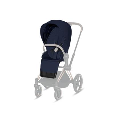 Kočárek CYBEX Priam Chrome Black Seat Pack PLUS 2021 - 2