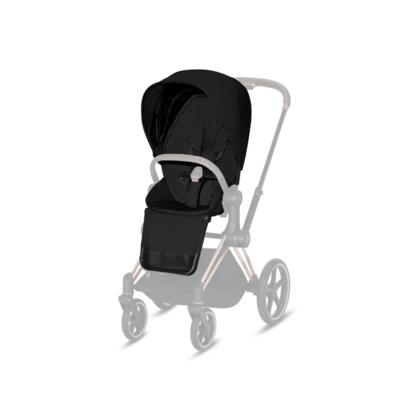 Kočárek CYBEX Priam Matt Black Seat Pack PLUS 2021 - 2