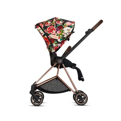 Kočárek CYBEX Set Mios Seat Pack Fashion Spring Blossom 2021 včetně autosedačky - 2