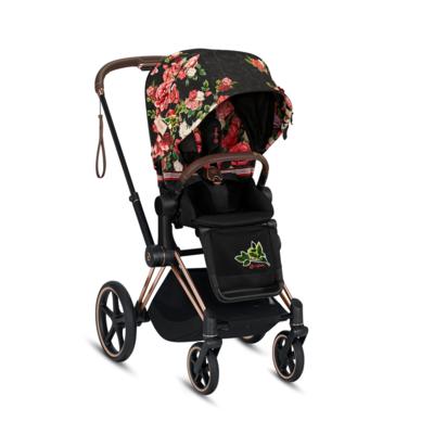 Kočárek CYBEX Priam Lux Seat Fashion Spring Blossom 2021 včetně korby - 2