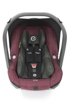 Autosedačka BABYSTYLE Capsule Infant i-Size 2021, berry - 2