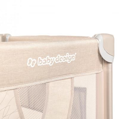 Cestovní postýlka BABY DESIGN Dream 2020, 09 - beige - 2