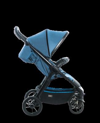 Kočárek MOON Jet-R 2019, blue nylon - 2