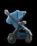 Kočárek MOON Jet-R 2019, blue nylon - 2/7