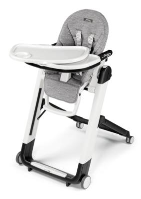 Jídelní židlička PEG PÉREGO Siesta Follow Me 2021 + DÁREK, wonder grey - 2
