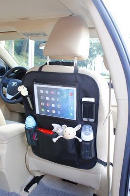 Organizér na sedadlo ZOPA s kapsou na tablet 2021, grey - 2