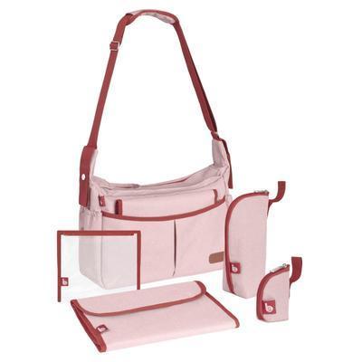 Přebalovací taška BABYMOOV Urban Bag 2021, melanged pink - 2