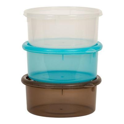 Misky s víčky BO JUNGLE Bowls 730ml (3ks) 2019 - 2
