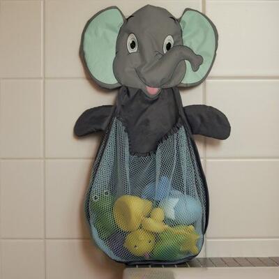 Síť na hračky do vany BO JUNGLE 2021, elephant - 2