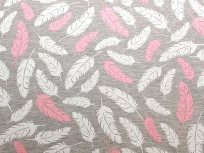 Fusak EMITEX Bary 2v1 bavlna 2021, pírka pink - šedý melanž - 2