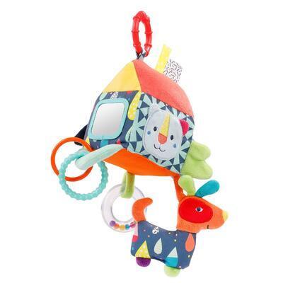 Color Friends BABY FEHN Aktivity hračka 2021, domeček - 2