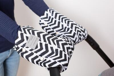 Rukavice X-LANDER X-Muff Art 2021, frenzy zebra - 2