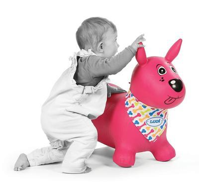 Skákací pes Ludi 2020, růžový - 2