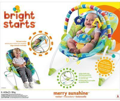 Houpátko BRIGHT STARTS vibrující Merry Sunshine 2020 - 2