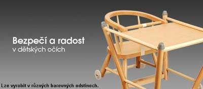 Dřevěná jídelní židlička BERNKOP Sandra 2021 - 2