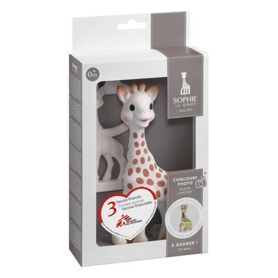 Žirafa Sophie VULLI dárková sada (žirafa + kousátko) 2020 - 2