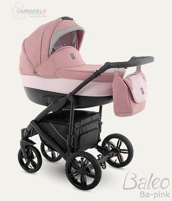 Kočárek CAMARELO Baleo 2020 včetně autosedačky, pink - 2