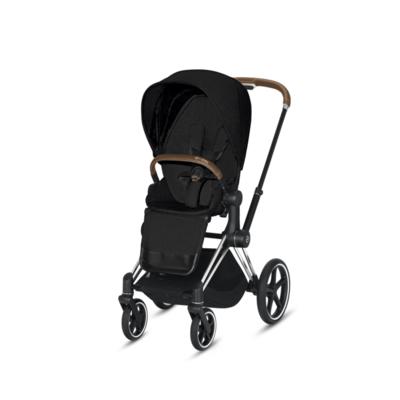 Kočárek CYBEX Set Priam Chrome Black Seat Pack PLUS 2021  včetně Aton 5, stardust black - 3