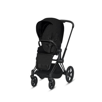Kočárek CYBEX Priam Matt Black Seat Pack PLUS 2021 včetně korby - 3