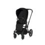 Kočárek CYBEX Priam Matt Black Seat Pack PLUS 2021 včetně korby - 3/7