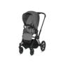 Kočárek CYBEX Set Priam Matt Black Seat Pack PLUS 2021  včetně Aton 5, manhattan grey - 3/7