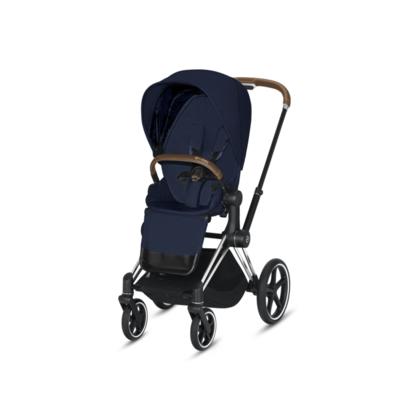 Kočárek CYBEX Set Priam Chrome Brown Seat Pack PLUS 2021  včetně Aton 5, midnight blue - 3