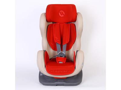 Autosedačka AVIONAUT Glider Isofix, béžová/červená - 3