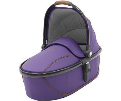 Kočárek BABYSTYLE Egg® 2018 včetně korby a autosedačky, gothic purple/gun metal rám - 3