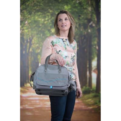 Přebalovací taška BO JUNGLE B-City 2021, grey - 3